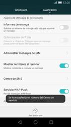 Huawei Ascend G7 - Mensajería - Configurar el equipo para mensajes de texto - Paso 9