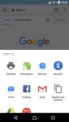 Sony Xperia XA1 (G3121) - Internet - Hoe te internetten - Stap 21