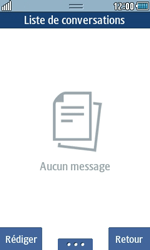 Samsung Wave 723 - Contact, Appels, SMS/MMS - Envoyer un SMS - Étape 4