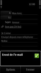 Nokia 500 - E-mail - envoyer un e-mail - Étape 12