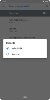 Nokia 9 - Internet - comment configurer un point d'accès mobile - Étape 10