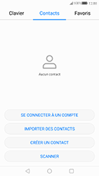 Huawei P10 - Contact, Appels, SMS/MMS - Ajouter un contact - Étape 3