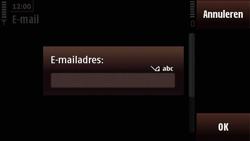Nokia N97 Mini - E-mail - e-mail instellen: POP3 - Stap 9