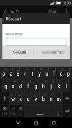 HTC Desire 510 - Internet et connexion - Accéder au réseau Wi-Fi - Étape 7