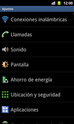 Samsung I8160 Galaxy Ace II - WiFi - Conectarse a una red WiFi - Paso 4