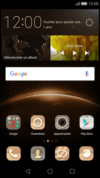 Huawei G8 - SMS - configuration manuelle - Étape 2