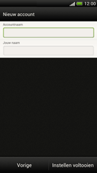 HTC Z520e One S - E-mail - e-mail instellen: POP3 - Stap 15