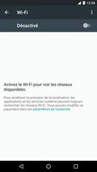 LG Google Nexus 5X - Wifi - configuration manuelle - Étape 4