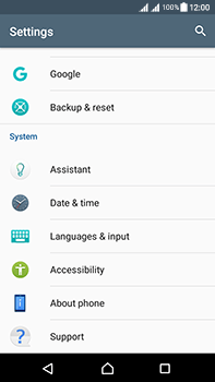 Sony Xperia L1 - Device maintenance - How to do a factory reset - Step 5