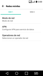 LG K4 (2017) - Internet - Configurar Internet - Paso 7