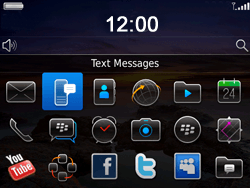 BlackBerry 9780 Bold - SMS - Manual configuration - Step 3