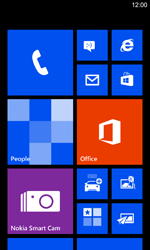 Nokia Lumia 925 - Email - manual configuration - Step 1