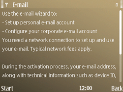 Nokia E72 - E-mail - Manual configuration - Step 5