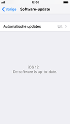 Apple iPhone SE - iOS 12 - Toestel - Software update - Stap 7