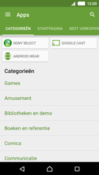 Sony Xperia M4 Aqua (E2303) - Applicaties - Downloaden - Stap 6