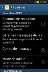 Samsung S6310 Galaxy Young - SMS - Configuration manuelle - Étape 8