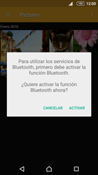 Sony Xperia Z5 Compact - Bluetooth - Transferir archivos a través de Bluetooth - Paso 13