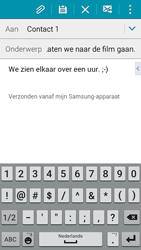 Samsung I9195i Galaxy S4 mini VE - E-mail - Hoe te versturen - Stap 10