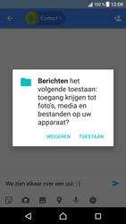 Sony Xperia XZ (F8331) - Android Nougat - MMS - Afbeeldingen verzenden - Stap 9