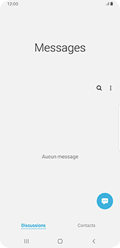 Samsung Galaxy S9 Plus - Android Pie - SMS - configuration manuelle - Étape 4