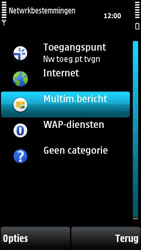 Nokia X6-00 - Mms - Handmatig instellen - Stap 6