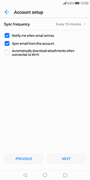 Huawei Mate 10 Pro - Email - Manual configuration - Step 16