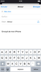 Apple iPhone 6 iOS 8 - E-mail - envoyer un e-mail - Étape 6