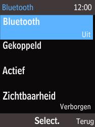 Nokia 225 (Type RM-1012) - Bluetooth - Aanzetten - Stap 5