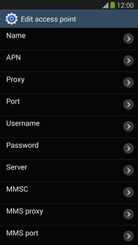 Samsung N9005 Galaxy Note III LTE - Internet - Manual configuration - Step 10