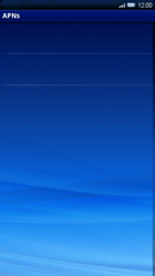 Sony Xperia X10 - Internet - Manual configuration - Step 7
