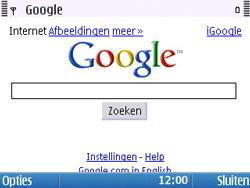 Nokia E5-00 - Internet - Hoe te internetten - Stap 8