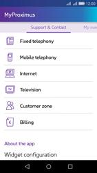 Huawei Y6 - Applications - MyProximus - Step 21