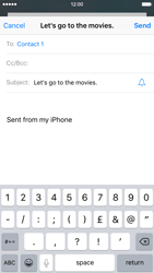 Apple iPhone 6 iOS 9 - E-mail - Sending emails - Step 7