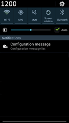 Samsung N7100 Galaxy Note II - Internet - Automatic configuration - Step 4