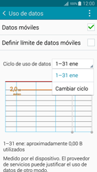 Samsung A500FU Galaxy A5 - Internet - Ver uso de datos - Paso 6