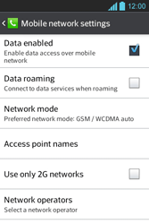 LG E610 Optimus L5 - Network - Usage across the border - Step 6