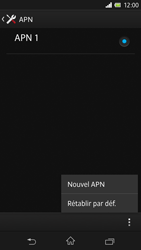 Sony Xpéria Z - Premiers pas - Configurer l