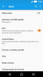 Sony Xperia M4 Aqua - Internet (APN) - Como configurar a internet do seu aparelho (APN Nextel) - Etapa 7