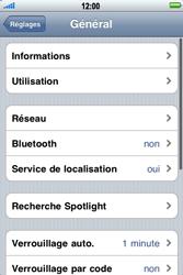 Apple iPhone 3G - Internet - activer ou désactiver - Étape 4