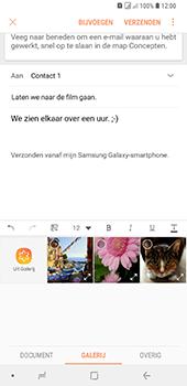 Samsung Galaxy A9 - E-mail - hoe te versturen - Stap 13