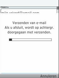 Nokia 301-1 - E-mail - Hoe te versturen - Stap 18