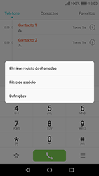 Huawei Y6 (2017) - Chamadas - Como bloquear chamadas de um número -  4
