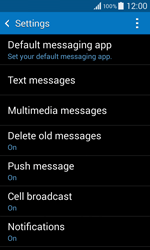 Samsung G355 Galaxy Core 2 - SMS - Manual configuration - Step 6