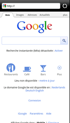 HTC Z715e Sensation XE - Internet - Navigation sur Internet - Étape 4