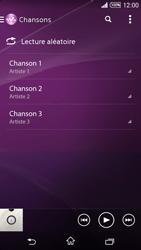 Sony Xpéria T3 - Photos, vidéos, musique - Ecouter de la musique - Étape 6