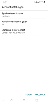 LG lg-q60-dual-sim-lm-x525eaw - E-mail - Account instellen (POP3 zonder SMTP-verificatie) - Stap 17