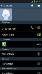 Samsung Galaxy S4 - Contact, Appels, SMS/MMS - Ajouter un contact - Étape 9