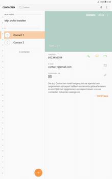 Samsung Galaxy Tab A 10.1 - Android Nougat - Contacten en data - Contacten kopiëren van SIM naar toestel - Stap 4