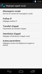 Acer Liquid Jade Z - Messagerie vocale - Configuration manuelle - Étape 7