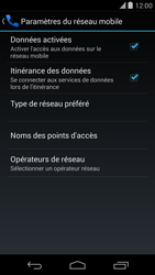 LG D821 Google Nexus 5 - Internet - Utilisation à l